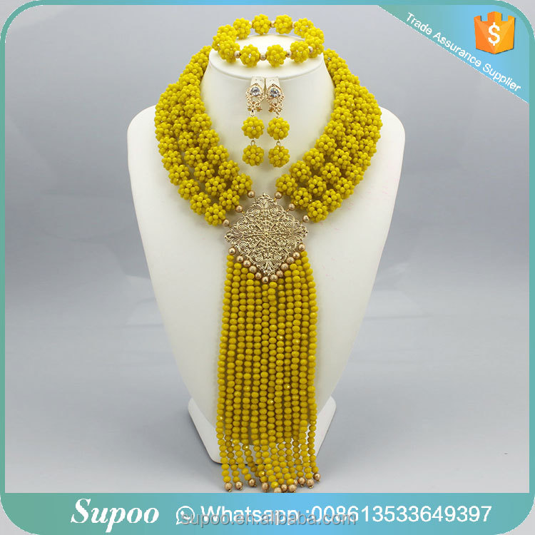 <strong>Fashionable</strong> for women beads jewelry set for wedding party