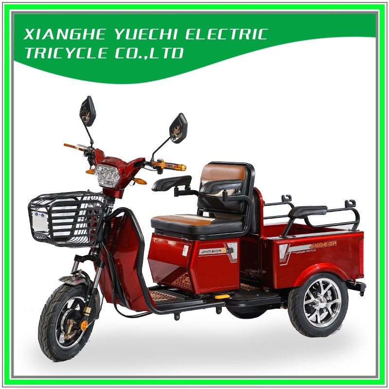 Folding Electric Tricycle for Passenger or Cargo
