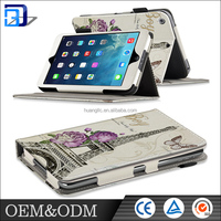 OEM / ODM ! Customized design Flip card Slot pu Leather tablet Case Cover for apple ipad pro with stand holder