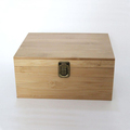 New design bamoo gift box ,essential oil storage box fits 30 bottles