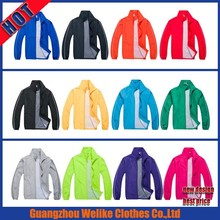 2015 high quality soccer training jacket hot sale winter men waterproof custom jacket blank outdoor football jacket and coat