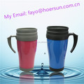 Leak proof insulated thermos coffee tea dringking travel mugs with lid