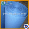 light blue nonwoven polyester felt fabric