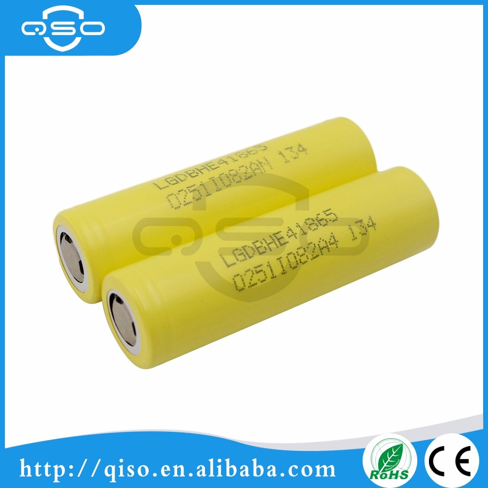 Golden power tool battery LG HE4 2500mah 35A First power battery