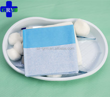 Sterile Disposable Minor Surgery Drape In Cesarean Section Kit
