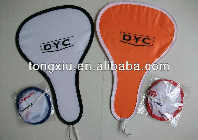 2013 promotion nylon foldable hand fans