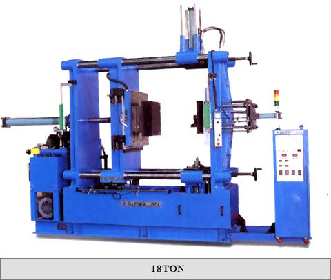 Injection molding M/C ( lizuid materials )