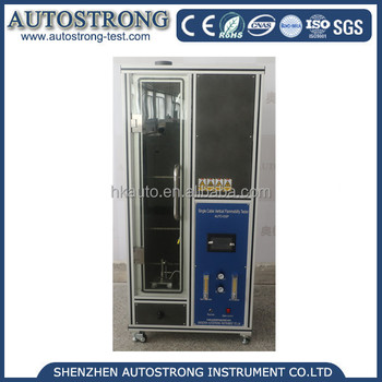 IEC60332 Single Cable Vertical Flammability Tester