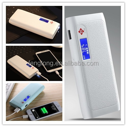 Universal Portable Powerbank 15000mah for phone from factory wholesale with 1 year warranty