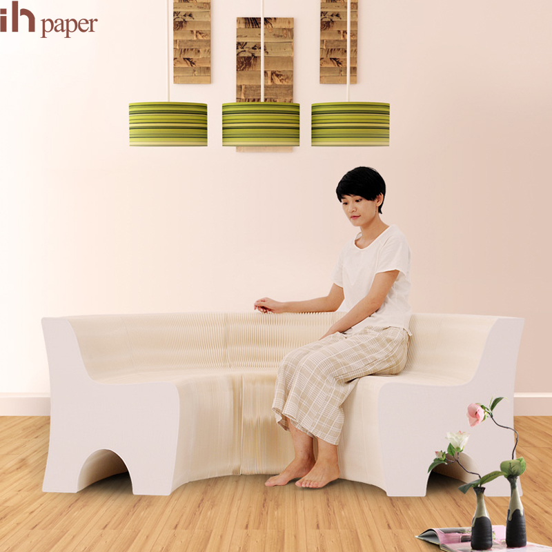 buy a paper sofa Buy low price, high quality paper chair with worldwide shipping on  home  furniture modern design folding paper stool long bench sofa chair kraft  paper.