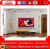 "4:3 72"" Rear Fixed PVC Aluminum Frame Projector Screen for Home Theater"