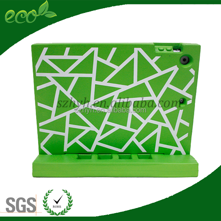 Best Sell 2016 Eco-friendly EVA Handle Stand Kid Shock Proof Case For iPad air 2 iPad 6 Kid Case