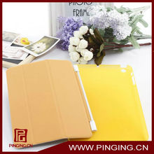 Guangzhou factory selling pretty 3 fold transparent detachable case for ipad mini