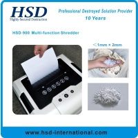 Multi-function Disintegrator for Paper, CD, U Disk and Plastic Card