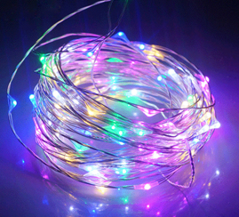 Solar String Fairy Light Holiday light(Warm White) christmas outdoor decorations