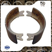Heavy duty truck parts Replica Rockwell brake shoes with ISO/TS16949 certification