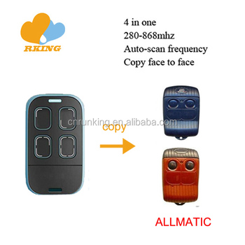 multifrequency universal remote control duplicator 868/433/315/310/303/390MHz
