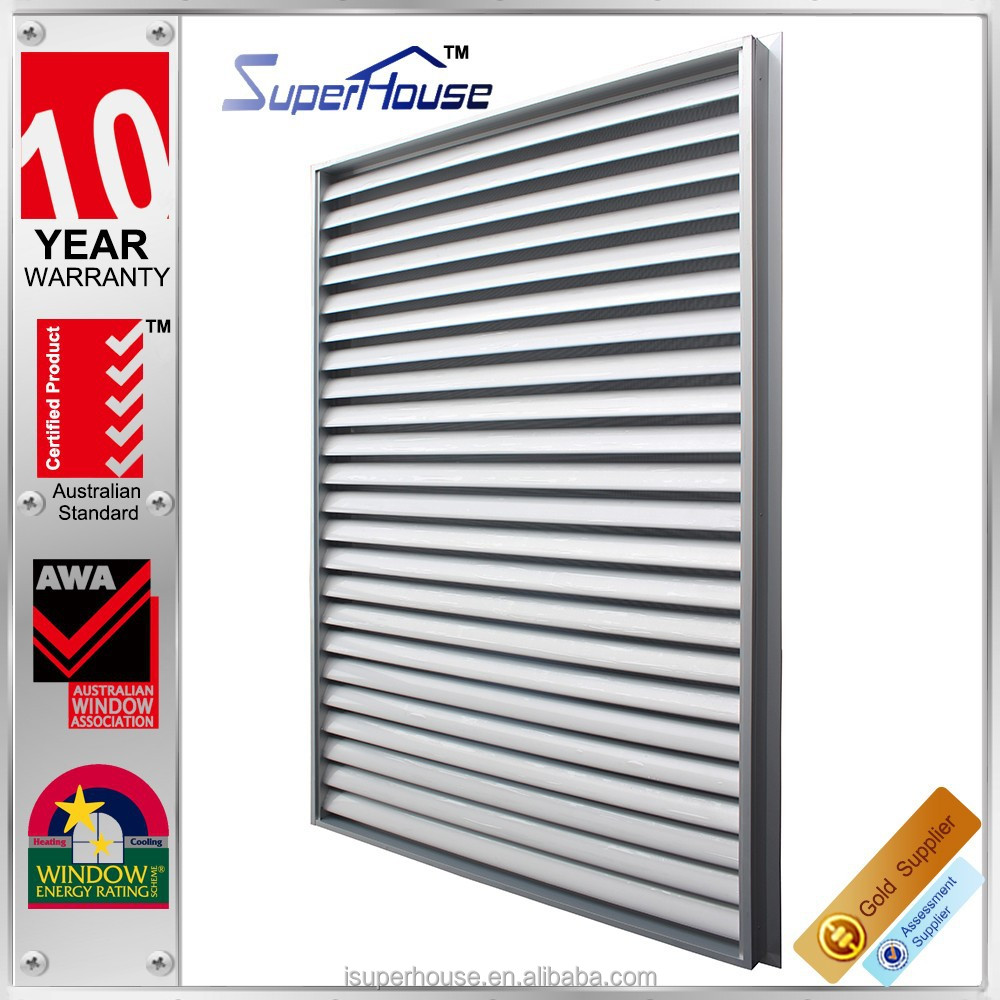 Superhouse exquisite aluminum window louver prices in China