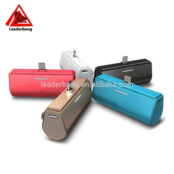 2017 New Product back charge quick charge power bank 3000mAh
