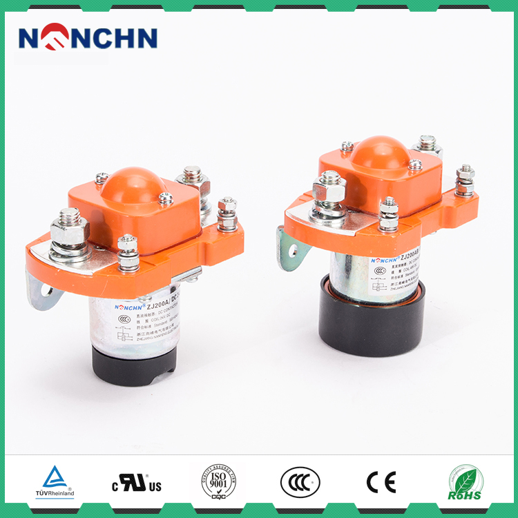 NANFENG China Top Ten Selling Products High Power Latching Relay / Contactor With Trade Date