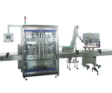 YGF-6L Auto Rapeseeds Oil Filling Capping Induction Sealing Machine