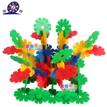 JQ big snowflake DIY Toy Formative Education building blocks