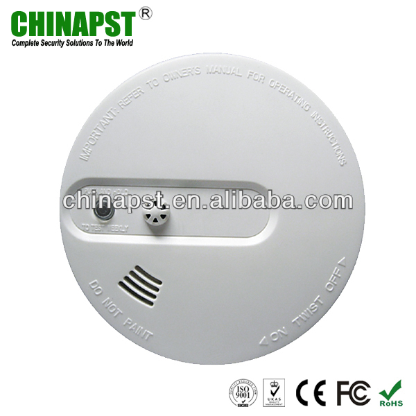 High Sensitive Stable Wireless Heat Smoke Detector Fire Alarm Sensor for Home Security PST-WHS101