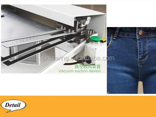 jeans pants J stitch automatic computer sewing machine for garment