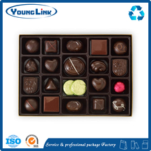 Biodegradable candy chocolate blister tray in different shapes