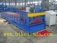 850 digital controlled corrugated sheet roll forming machine