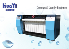 Commercial laundry equipment steam /electric heating bedsheet ironing machine
