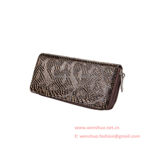 Classic Elegant Snakeskin Women Indian Clutch Purse Bag