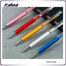 The Manufacturer Can Set The LOGO Crystal Touch Screen Pen Metal Ball Point Pen Made in China