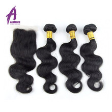 Wholesale Brazilian Remy Virgin Hair Weave, Wet And Wavy Human Virgin Hair
