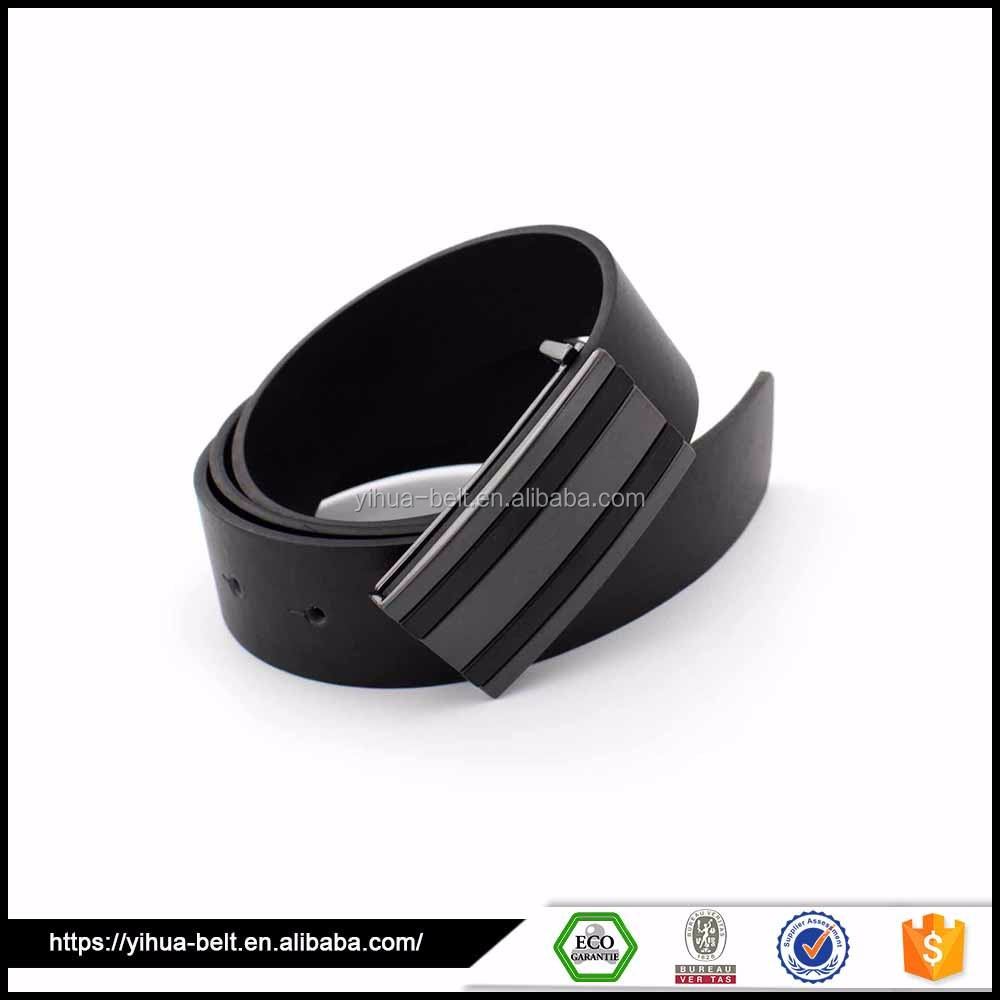 Modern style Male Leather Belt with alloy Buckle