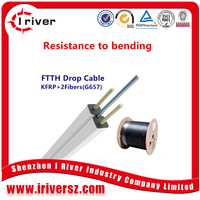 2 Core KFRP Ftth Drop Cable