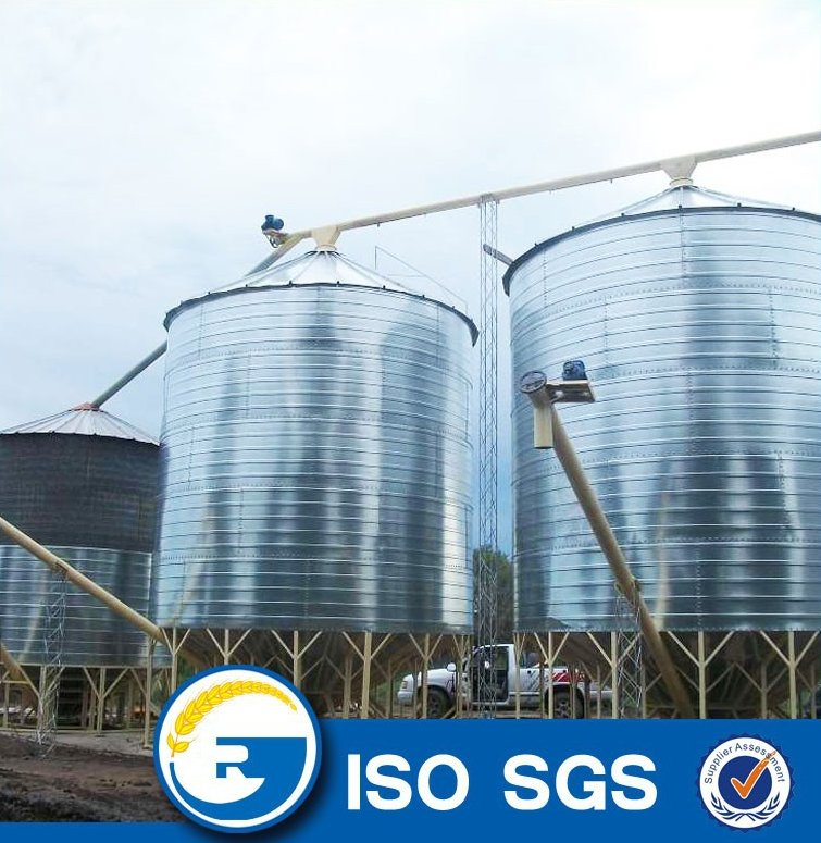 galvanized grain silos prices