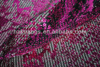 Foil fabric Foil mesh fabirc Metallic Fabric Bronzed Fabric with flower design