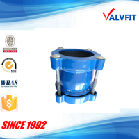 ductile cast iron flexible joint universal coupling