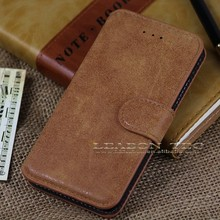 retro leather case for iphone 6, luxury flip leather case for apple iphone6, leabon tech