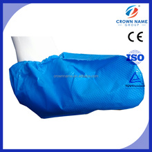 Disposable CPE welding leather shoe cover