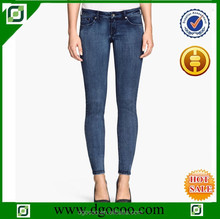 Ocoo Top design fashion OEM service women low waist skinny slim fit denim price of denim jeans
