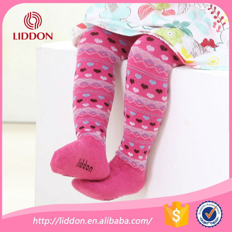 China socks manufacturer wholesale baby colorful striped cotton tights