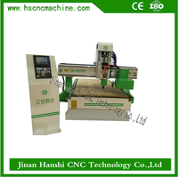 high work efficiency automatic tool change spindle cnc woodworking machine