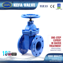 KEFA Rising stem resilient seated stainless steel industrial gate valve