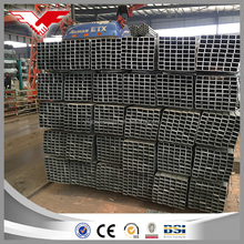 Galvanized HDG mild welded steel square & rectangle hollow section ASTM A500 for building matieral Best price of China mill