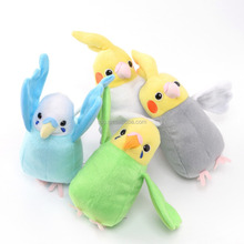 OEM Animal Baby Soft Plush Colorful Bird Mini Toy Home Relaxing Funny Gift