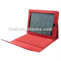 Wireless for ipad 2 Bluetooth Keyboard with leather case