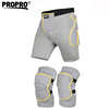 Best seller sets of hip pads and knee brace skiing skating hiking horsing hip padded shorts and knee guards