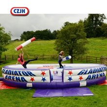Games Outdoor Commercial Inflatable Duel Combat For Gladiator Games
